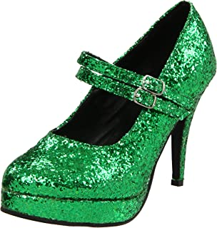 Best emerald green and gold shoes Reviews