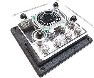 SMD Quad XL ANL Fuse Block Cover W/Integrated SMD VM-1 Volt Meter