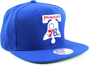 Mitchell and Ness Sixers Wool 2 Snapback Hat with Bell (NL15Z-TPC576ERS)