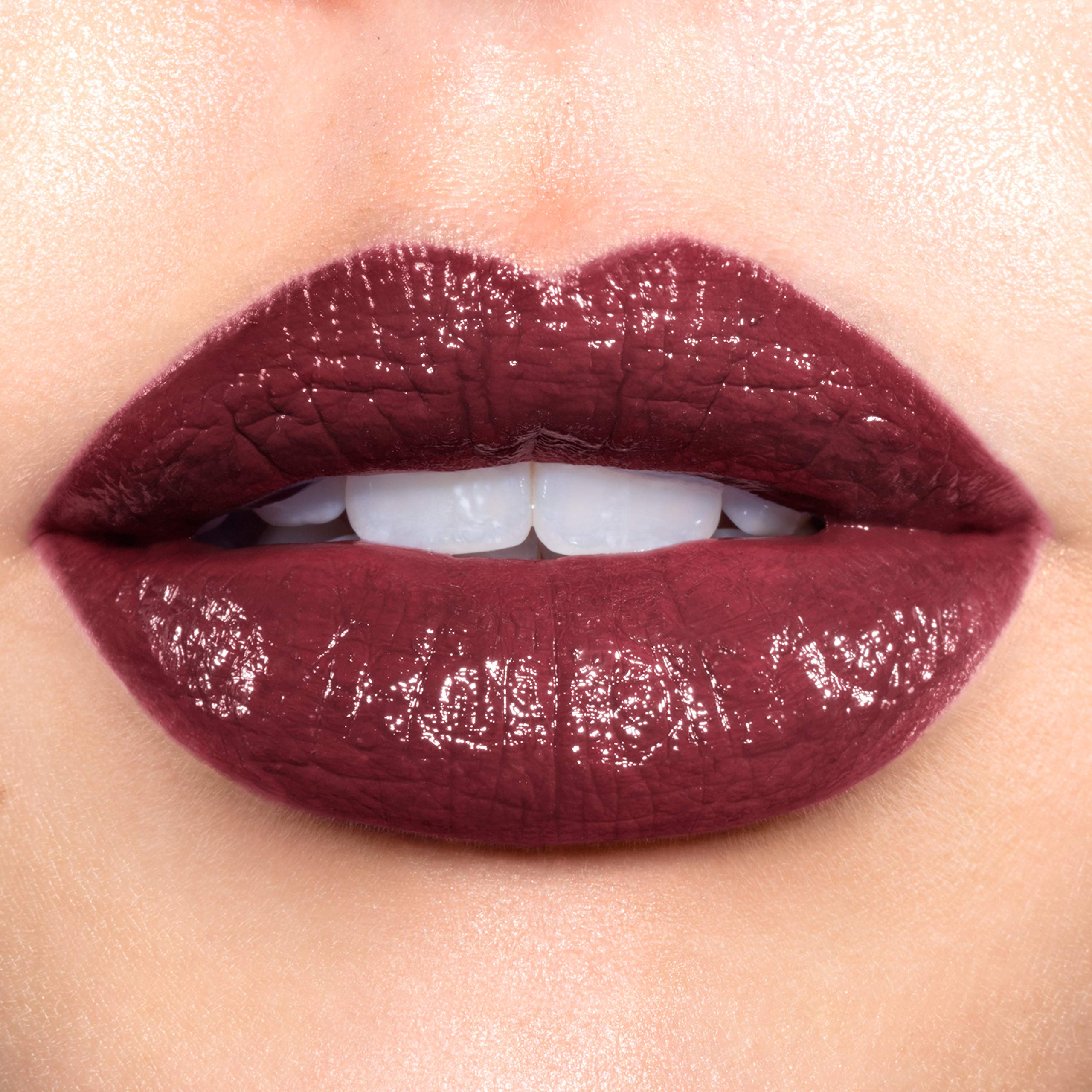 Revlon Super Lustrous Lipstick, High Impact Lipcolor with Moisturizing Creamy Formula, Infused with Vitamin E and Avocado Oil in Plum / Berry, Vampire Love (777)
