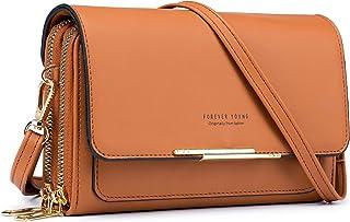 Roulens kleine Umhängetasche für Frauen, Handtaschen für PU-Lederhandtaschen, Schulterhandtaschen mit Kreditkartenfächern