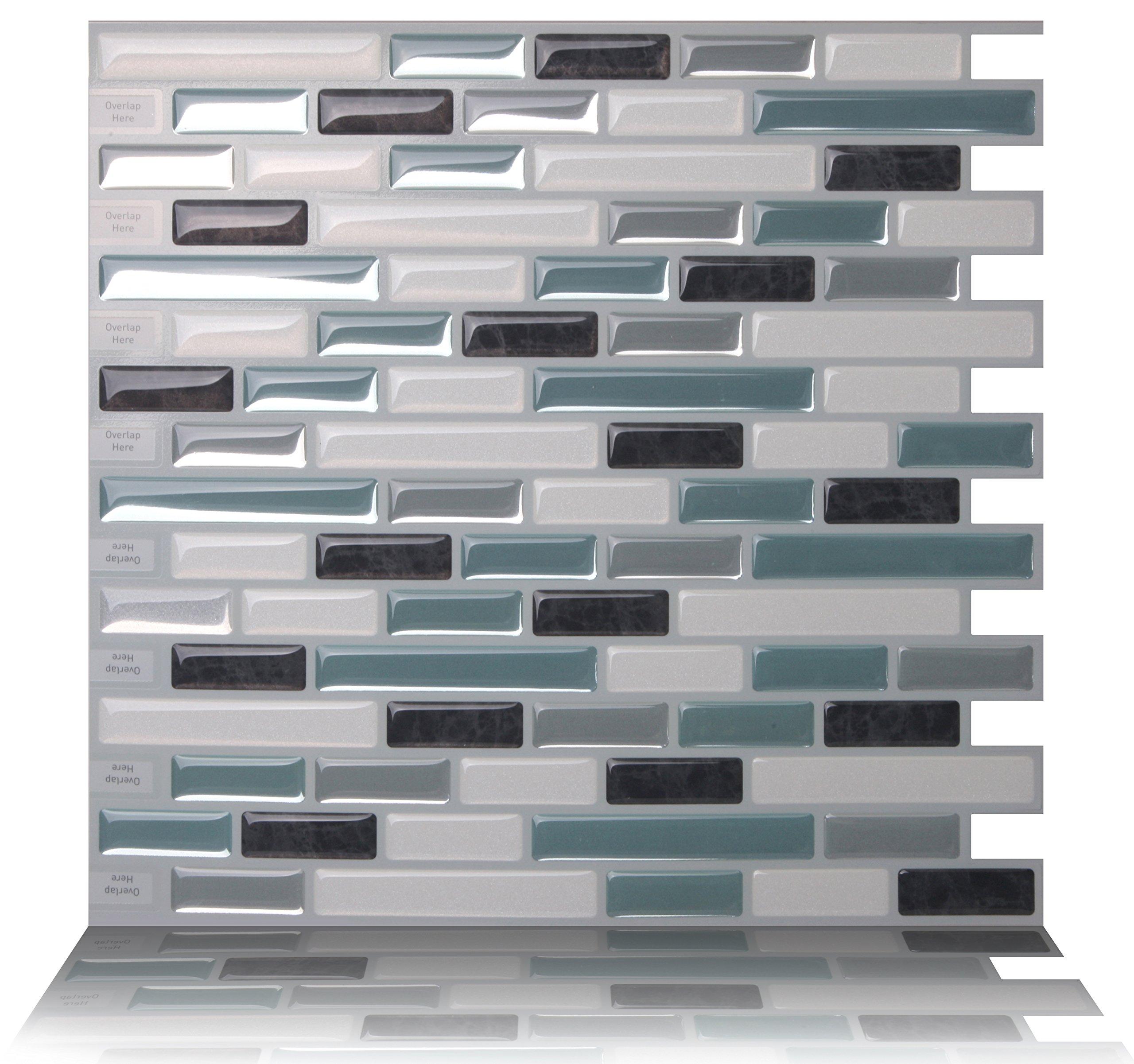 - Tic Tac Tiles 5-Sheet Peel And Stick 3D Tile Sticker Self Adhesive