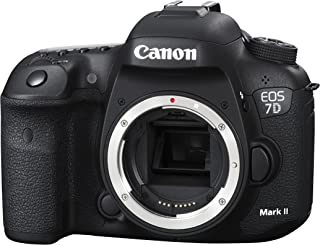 Canon EOS 7D Mark II + W-E1 Cuerpo de la cámara SLR 20.2MP CMOS 5472 x 3648Pixeles Negro - Cámara Digital (20,2 MP, 5472 x 3648 Pixeles, CMOS, Full HD, 910 g, Negro)