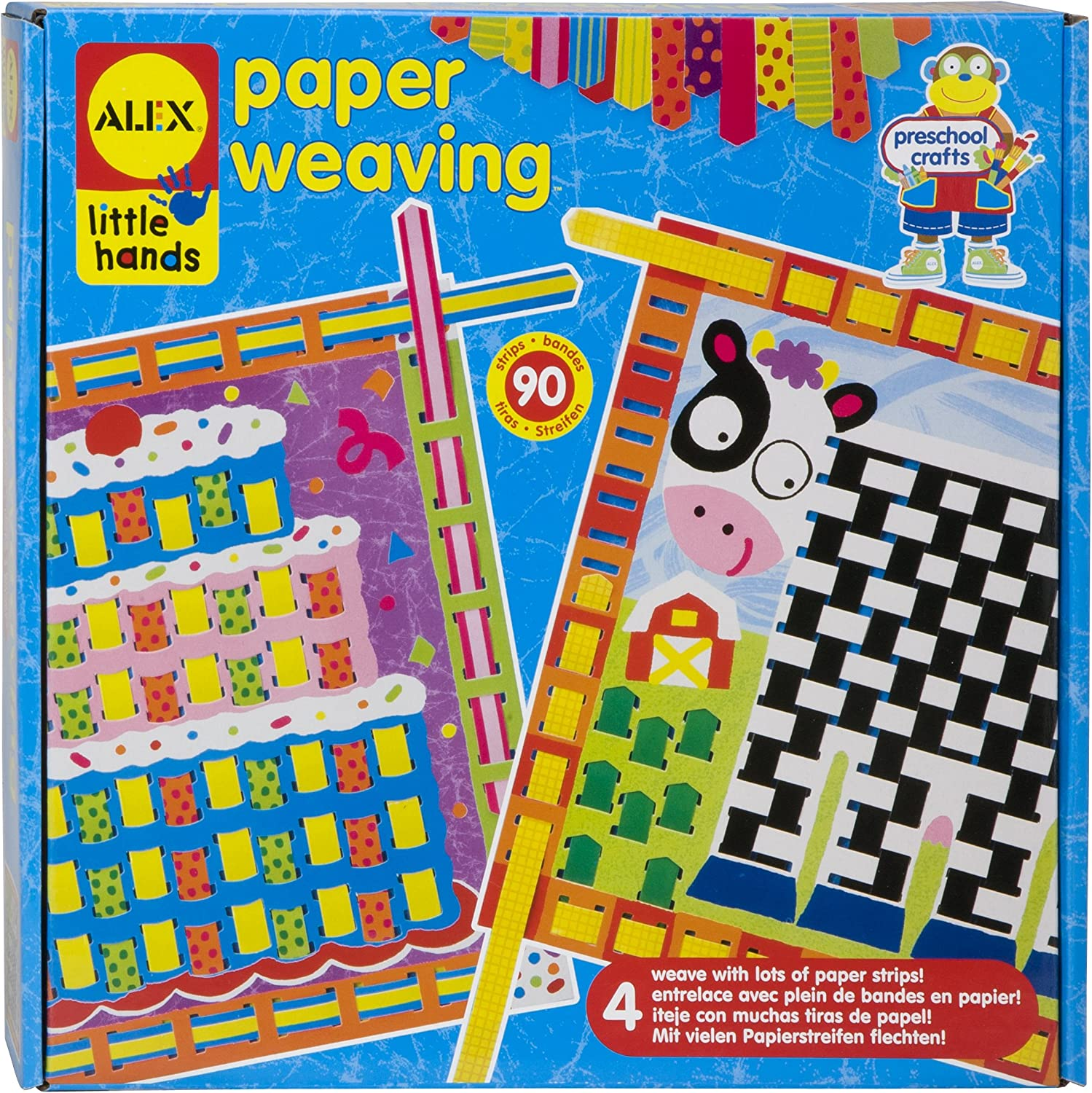ALEX Toys  Early Learning Paper Weaving  Little Hands 1427
