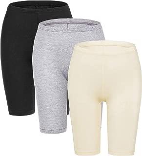 MANCYFIT Slip Shorts for Women Short Leggings Mid Thigh Legging Plus Size Lace Undershorts - Multicoloured - XXX-Large (US 24-26)