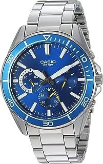 Casio Men's Sports Quartz Watch with Stainless-Steel Strap, Silver, 21.7 (Model: MTD-320D-2AVCF)