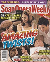 Tamara Braun, Dylan Cash, General Hospital, Greg Rikaart, Jerry Douglas, Young and the Restless, What Soap Stars Do in Bad Weather - April 12, 2005 Soap Opera Weekly Magazine
