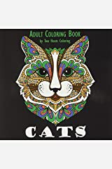 Adult Coloring Book: Cats Paperback