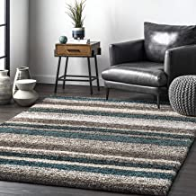 Amazon Com Blue And Brown Rug