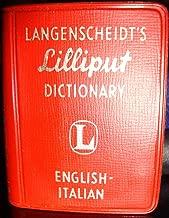 Langenscheidt's Lilliput Dictionary: English - Italian (Lilliput Dictionaries, Volume 215)