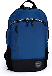 Gear Statement Century 28 Ltrs Moroccan Blue-Black Multipurpose Backpack for school, college, casual use (BKPSMTCNT0501)