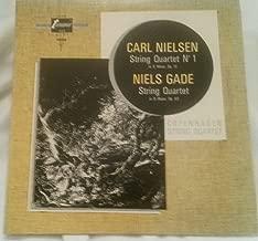 Carl Nielsen: String Quartet No.1 in G Minor, Op.13 / Niels Gade: String Quartet in D Major, Op.63