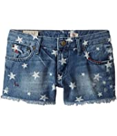 Polo Ralph Lauren Kids - Denim Print Shorts (Little Kids/Big Kids)