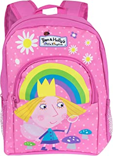Ben & Holly Girls Ben And Holly Backpack, Multicoloured, One size