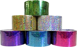 Holographic Style Duct Tape 6 assorted color Set 1.88
