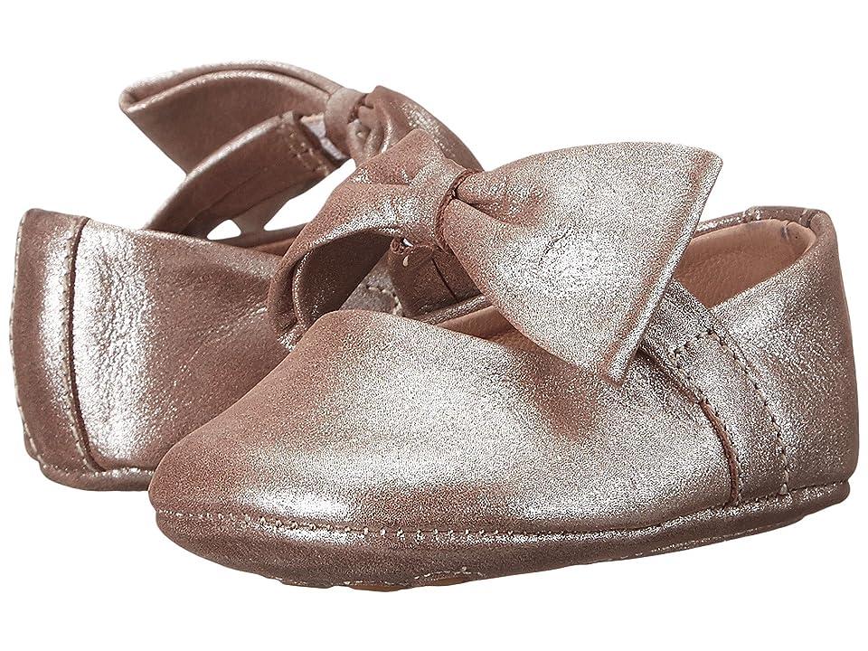 Elephantito Baby Ballerina w/ Bow (Infant/Toddler) (Blush) Girls Shoes