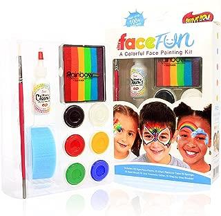 Silly Farm Rainbow Party Face Painting FACEfun Kit