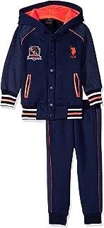 Boys' Toddler 2 Piece Jog Set, Navy, 2T
