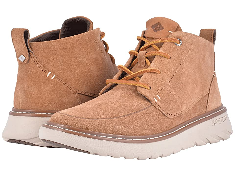 Sperry Element Chukka (Caramel Suede) Men