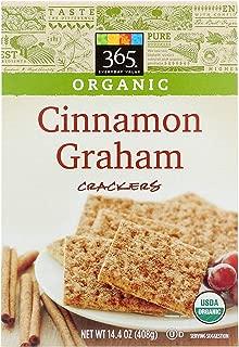 365 Everyday Value, Organic Cinnamon Graham Crackers, 14.4 oz