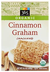 365 Everyday Value, Organic Cinnamon Graham Crackers, 14.4 oz