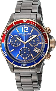 Oceanaut Men's Baltica Limited Edition Quartz Watch with Stainless Steel Strap, Gray, 20 (Model: OC0533)