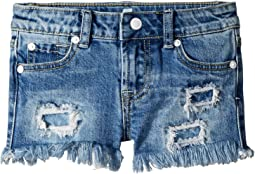 7 For All Mankind Kids Denim Shorts in Melbourne Sky (Little Kids)