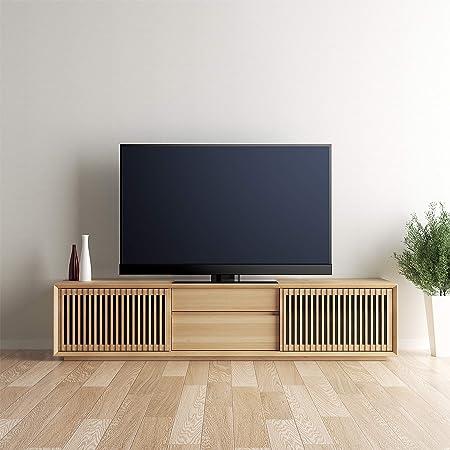 【カリモク正規品】テレビボード ローボード 幅177cm ピュアオーク karimoku QU6067MEK(設置・組立・引き取りあり ※一部地域のみ)