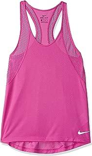 Nike Women's Run Tank, Silver(Active Fuchsia/Reflective Silv623), X-Small