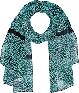 Wavy Leopard Stripes Oblong