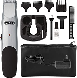 Wahl Groomsman Corded or Cordless Beard Trimmer for Men - Rechargeable Grooming Kit for Facial Hair - Hair Clipper, Shaver & Groomer - Model 9918-6171