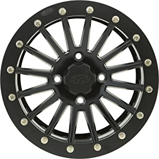 ITP SD Series Dual Beadlock Wheel - 14x7 - 4+3 Offset - 4/156 - Black, Bolt Pattern: 4/156, Rim Offset: 4+3, Wheel Rim Size: 14x7, Color: Black, Position: Front/Rear 1428549536B