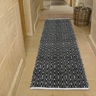 Amazon.com: black and white rug - Runners / Area Rugs ...