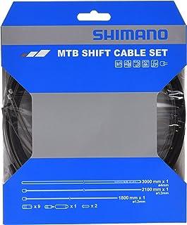 SHIMANO Juego de Cables de Engranaje de Acero Inoxidable MTB