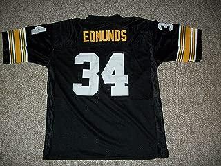 Terrell Edmunds Unsigned Custom Sewn Pittsburgh Black New Football Jersey Size S, M,L,XL,2XL,3XL