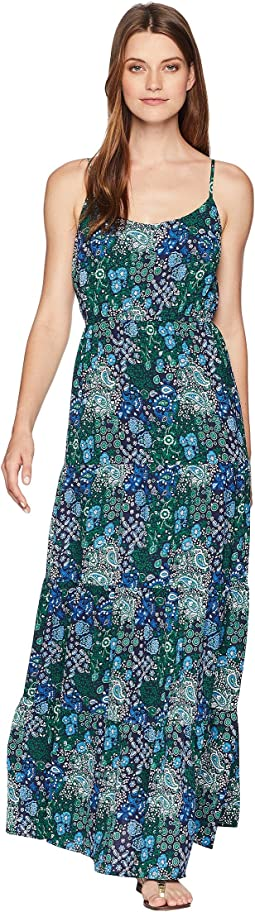 Paisley Remix Tiered Maxi Dress