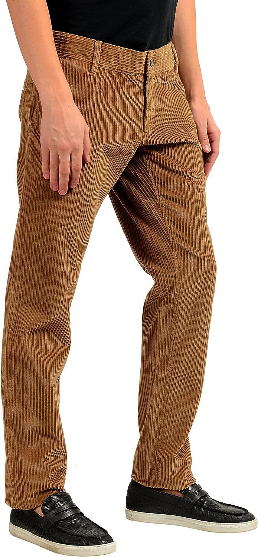 Dolce & Gabbana Men's Brown Corduroy Casual Pants US 30 IT 46