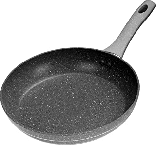 Royalford Smart Fry Pan with Durable Marble Coating – High-Quality Forged Aluminium Construction, Non-Stick Pan for Gas, I...