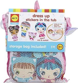 Alex Bath Dress Up Stickers in the Tub Kids Bath Activity