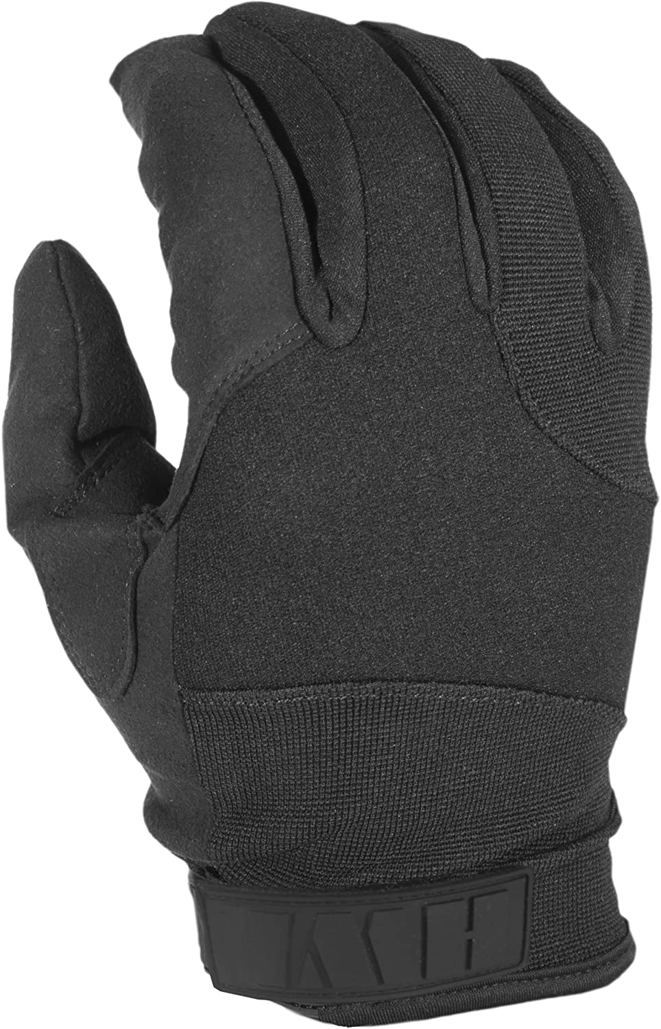 ACK, LLC HWI Gear Synthetic Liner Leather Duty Glove, Small, Black