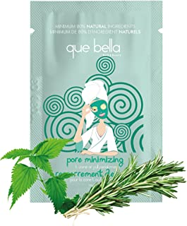 Que Bella Pore Minimize T-Zone or Full Facial Mask, 0.5 Oz (Pack of 2)