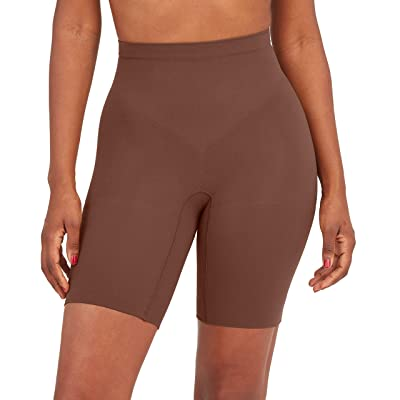Spanx Power Shorts (Chestnut Brown) Women