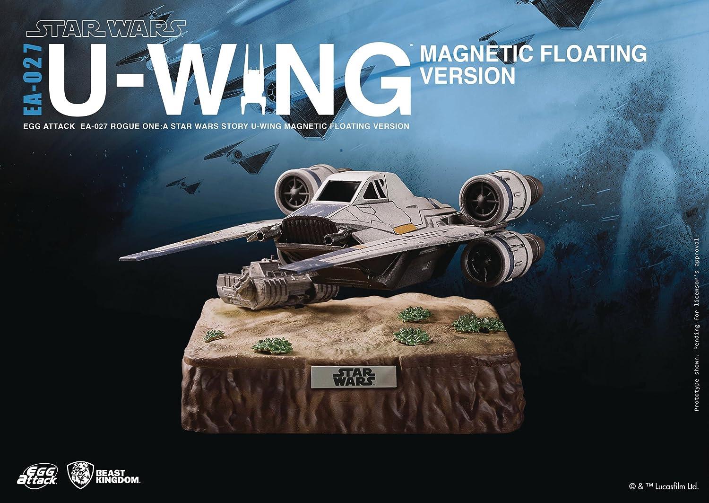 Beast Kingdom Star Wars Rogue One  Egg Attack Ea027 UWing Magnetic Floating Vehicle