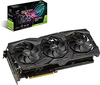 华硕 ROG Strix GeForce GTX 1660 Ti 6GB 超频版 VR Ready HDMI 2.0 DP 1.4 自动极限显卡 (STRIX-GTX1660TI-O6G-GAMING)
