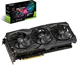 ASUS ROG Strix GeForce GTX 1660 Ti 6GB Overclocked Edition VR Ready HDMI 2.0 DP 1.4 Auto-extreme Graphics card (STRIX-GTX1660TI-O6G-GAMING)