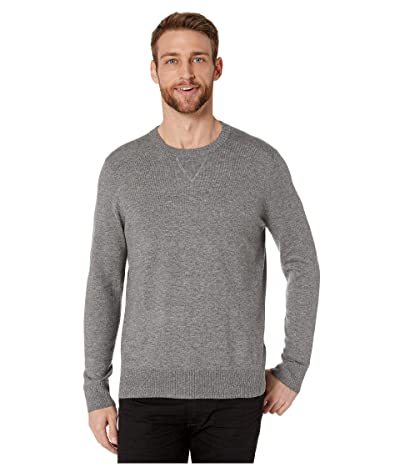 Smartwool Sparwood Crew Sweater (Medium Gray Donegal) Men