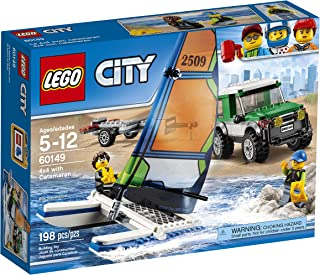 LEGO City Great Vehicles 4x4 with Catamaran 60149 Children's Toy