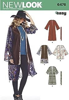 kimono sleeve top sewing pattern