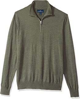 Amazon Brand - BUTTONED DOWN Men's Italian Merino Wool...