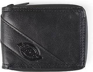 Men's Leather Slimfold Zip-Around Wallet